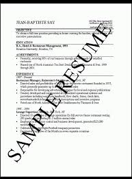 ... How To Do A Simple Resume 14 Make Basic 12 Good Job Resumes ...