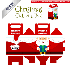 Cut Out Character Template Mega Collection Of 38 Cut Out Christmas Box Templates