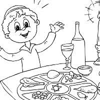 Small Picture Passover Coloring Pages Surfnetkids