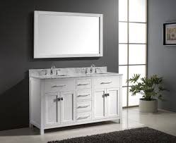 White Double Bathroom Vanities Bathroom 60 Inch Vanity Double Sink Double Bathroom Sink