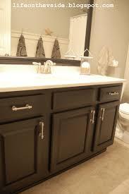 Brown Painted Bathrooms On The V Side Bathroom Redo Breakdown