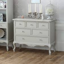 shabby chic chest of drawers. Large Vintage Chest Of Drawers Elise Grey Range And Shabby Chic