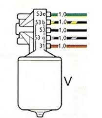 wiper motor wiring diagram for 1964 vw bug auto electrical wiring related wiper motor wiring diagram for 1964 vw bug