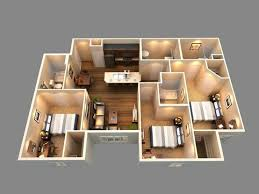 New 2 Bedroom Houses Model Interior