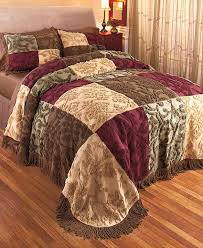 jewel tone comforter sets chenille patchwork bedspreads or shams ltd commodities 5 bedding king size jewel tone bedding