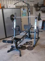 Buy Marcy MWB1282 Platinum Smith Machine Home Multi Gym With Marcy Platinum Bench