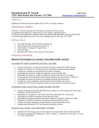 Control System Engineer Resume Beauteous System Engineer Resume