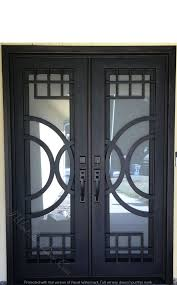 153 best Wrought Iron Doors images on Pinterest | Wrought iron ...