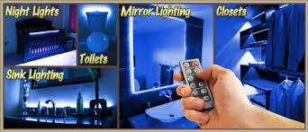 led lighting bedroom. biltek 164u0027 ft blue bedroom dresser headboard led lighting strip dimmer remote wall plug 110v closet make up counter mirror light lamp led