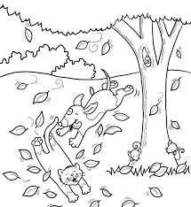 Disegno Paesaggio Autunnale Per Bambini Paesaggio Autunnale Disegno
