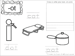Word Family Coloring Pages Long O Coloring Pages Graetdave Com