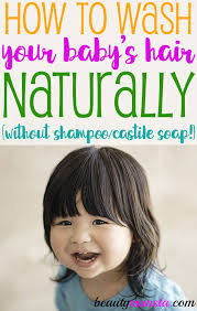 make diy baby shampoo without castile soap for your baby today