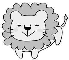 動物のかわいい無料イラスト素材集白黒カラー Web素材 All About
