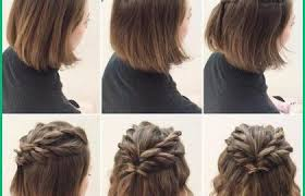 Coiffure Tresse Mariage Cheveux Mi Long 302092 Coiffure Pour