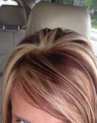 Hair Color Highlights With Brown Red