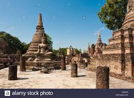 Old buddha asian temples