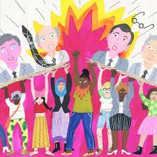 "Janna Morton on Twitter: ""#drawingwhileblack I'm Janna, a mixed race  illustrator from Baltimore. I do editorial work, patterns, comics, and  #kidlitart !… https://t.co/eetbFdobm7"""
