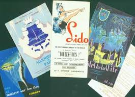 French Travel Brochures 5 From The 1950 60s Aujourdhui A Paris
