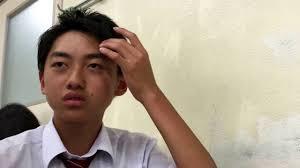 男子高校生がビシッと髪型セットしてみた Youtube