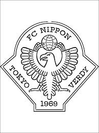 Tokyo Verdy Logo Kleurplaat Gratis Kleurplaten