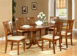 wooden dining table and 6 chairs adorable pc oval dining room set table quotxquot with leaf