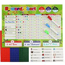 Chore Chart With Money Reward Cadily Magnetic Cash Reward Chart For Kids Responsibility