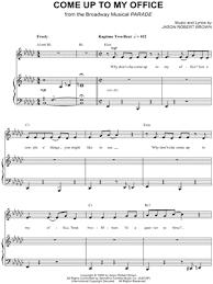 Office Piano Sheet Music