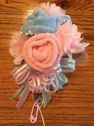 diy baby shower corsage baby sock baby shower corsage handmade infant jungle for ideas medium size