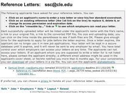 Intro To Recommendation Letter Help Documentation