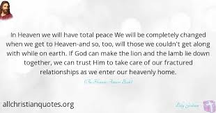 Christian Quotes On Peace