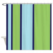 teal striped shower curtain. navy blue and green striped shower curtain teal