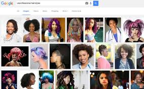 Unprofessional Hair Style google under fire over racist image search results for 5017 by wearticles.com