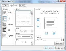 Free Page Border Templates For Microsoft Word Amazing Insert Page Border In Word 48