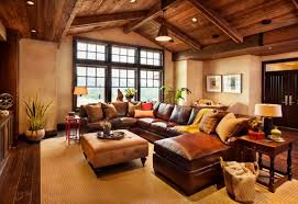 Living Room Furniture Whole Leather Sectional Sofas To Complete Your Living Room Image