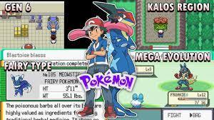 Pokemon X & Y Gba Rom Hack [2020] with Fairy Type, Mega Evolution and Gen 6  Pokemon! - YouTube