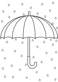 傘の塗り絵ぬりえワールドで検索幼児用無料塗り絵配信サイト