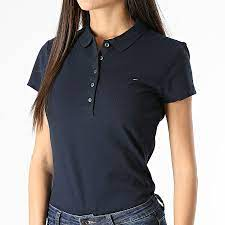 Maybe you would like to learn more about one of these? Tommy Hilfiger Polo Manches Courtes Femme Heritage 6661 Bleu Marine Laboutiqueofficielle Com