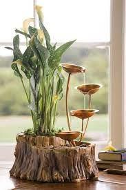 creative indoor water garden ideas for