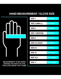 Goalkeeper Glove Size Chart Sports Leisure Specialist In Croydon London