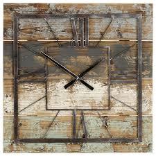 weston square wall clock farmhouse