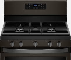 Fingerprint-Resistant <b>Black Stainless</b> Steel Appliances | Whirlpool