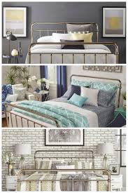 iNSPIRE Q Giselle Graceful Lines Victorian Metallic King-sized Metal Bed by  Bold Silver Chrome Finish Style up your bedroom with the chic and regal  Giselle ...