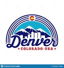 Logo Design Denver Denver Colorado Logo Vector And Illustration Denver Logo