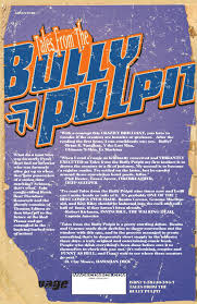 Comic Tales From The Bully Pulpit Issue 1