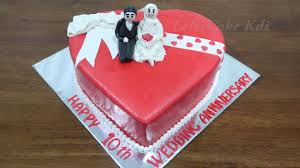 Kue Wedding Anniversary Sederhana Kue Ulang Tahun Bentuk Love