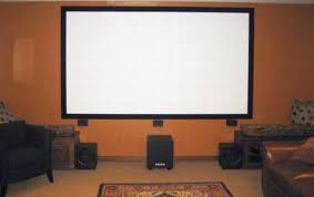 projector wall paintHow to Build Your Own Projector Screen at Home for Less Than Fifty