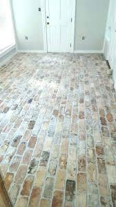 brick floor tiles kitchen faux brick flooring tile images design ideas vinyl