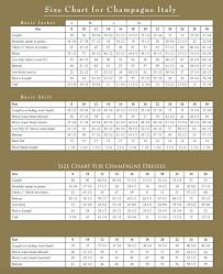 Donna Vinci Size Chart Size Charts Church Suits Size Charts Church Dresses Size