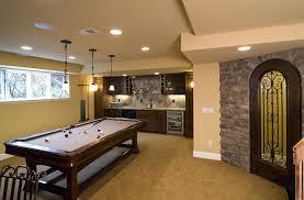 basement pool table. Plain Basement Basement Pool Table And Bar Room On