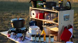 Camping Kitchen My Camp Kitchen On American Outdoors Youtube